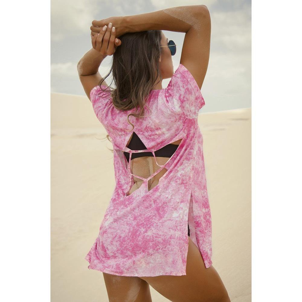Blusa No Steps Pink Superhot