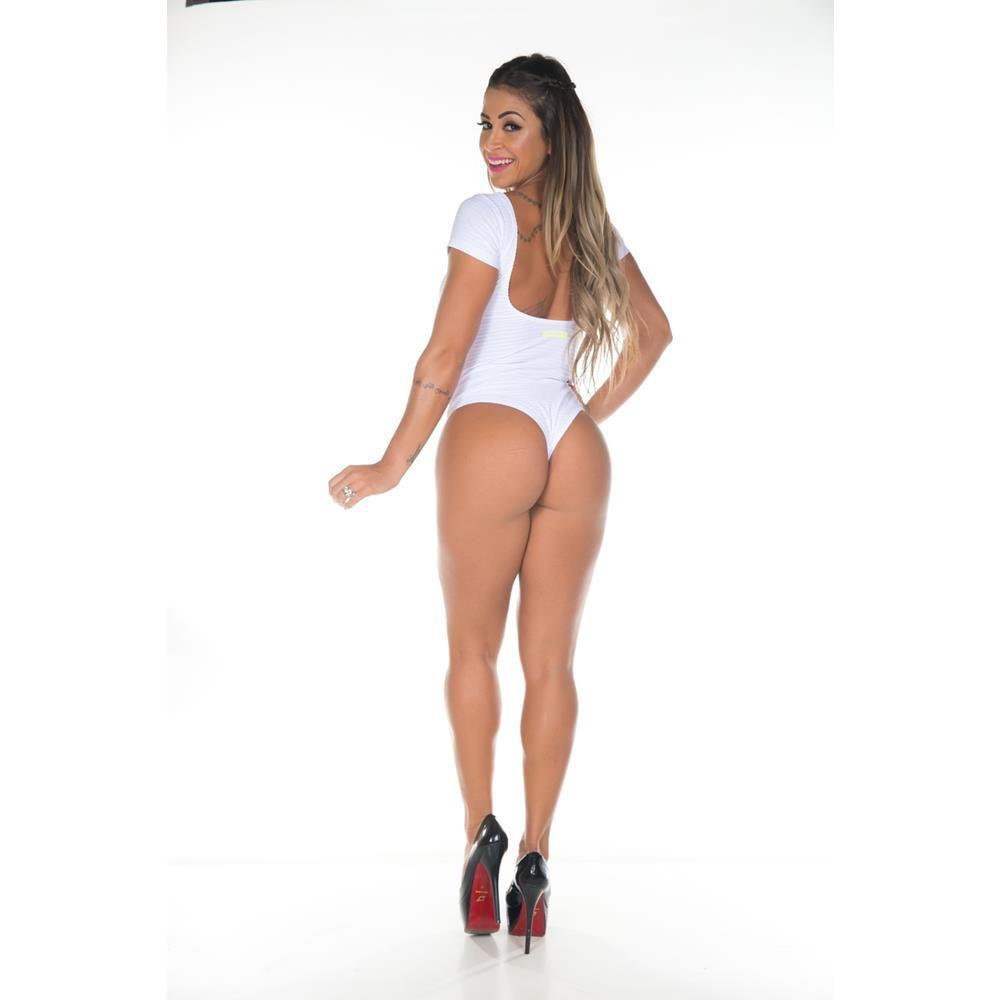 Body Bella Branco Garota Fit
