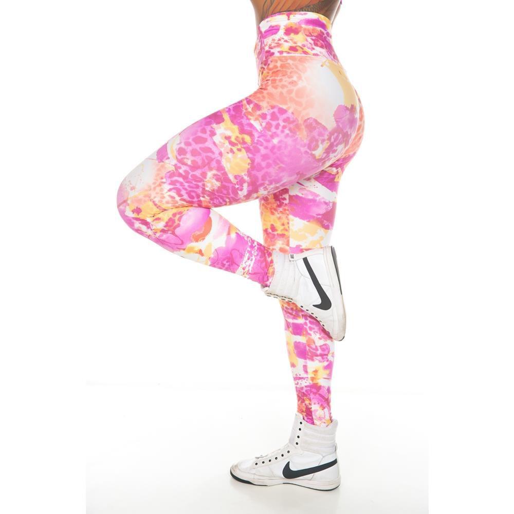 Calça Legging Abstract Garota Fit