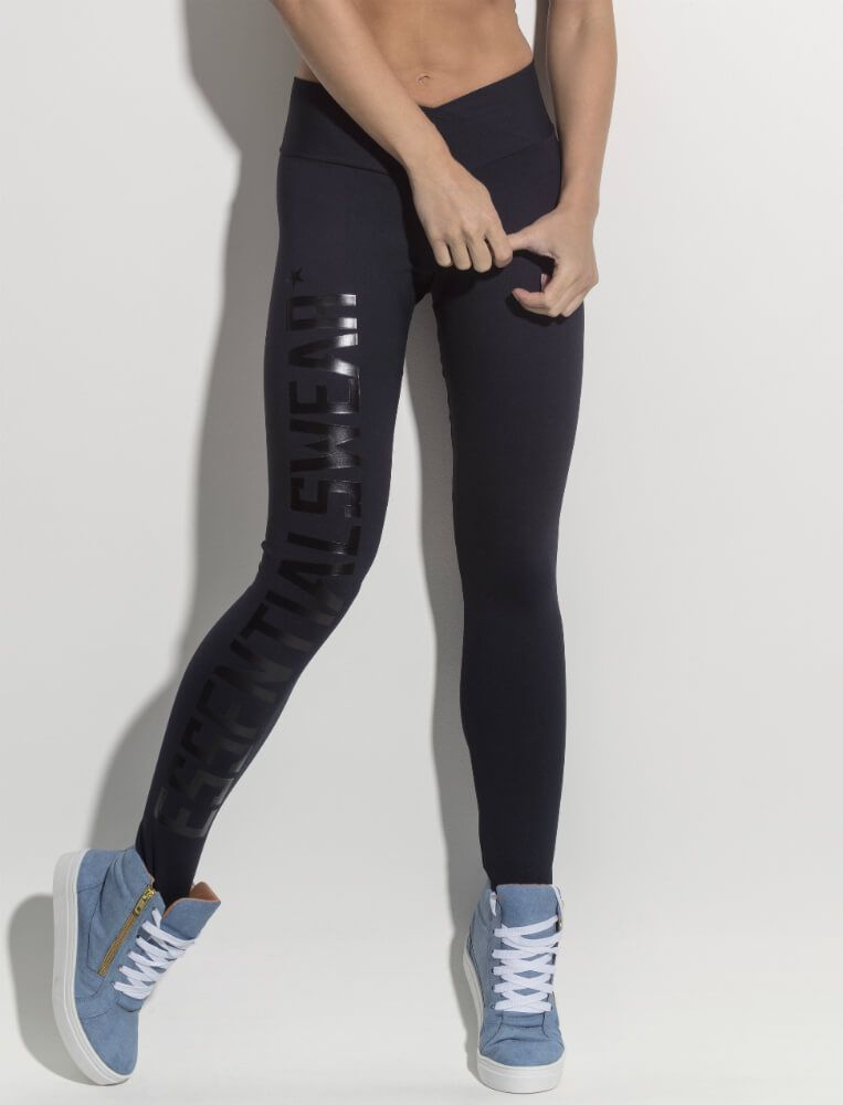 Calça Legging Black Shine Superhot