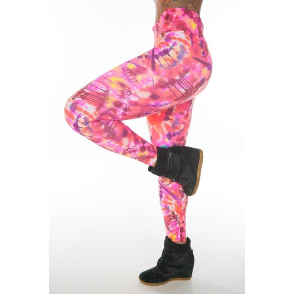 Calça Legging Caribe Pink Garota Fit