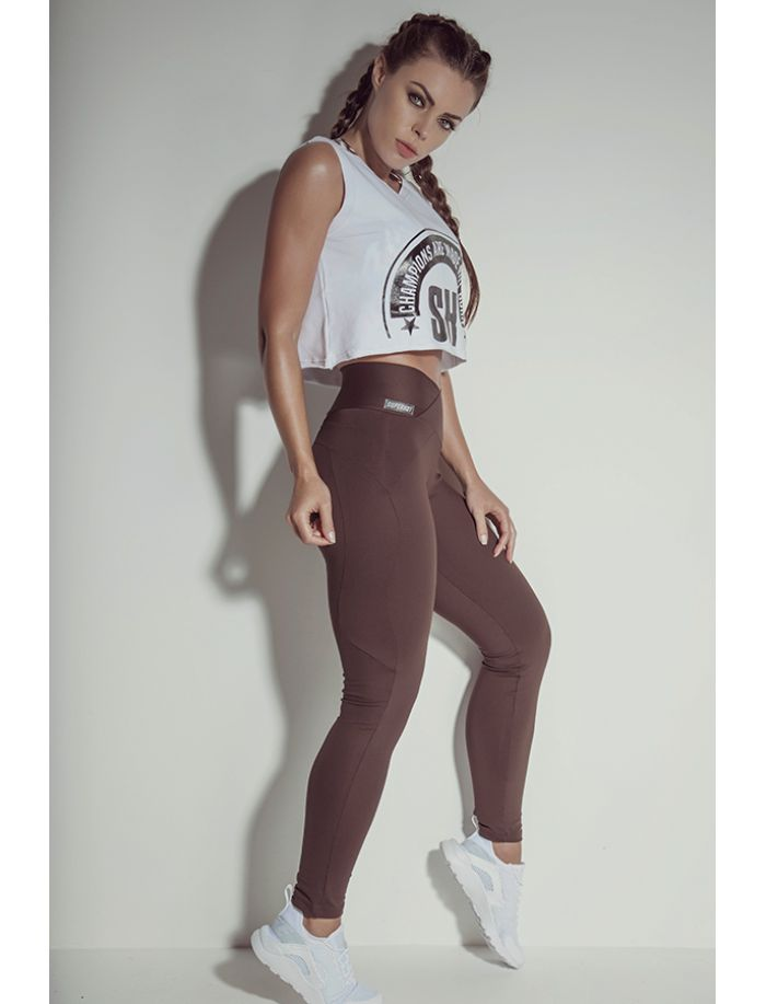Legging Essencial Brown Superhot