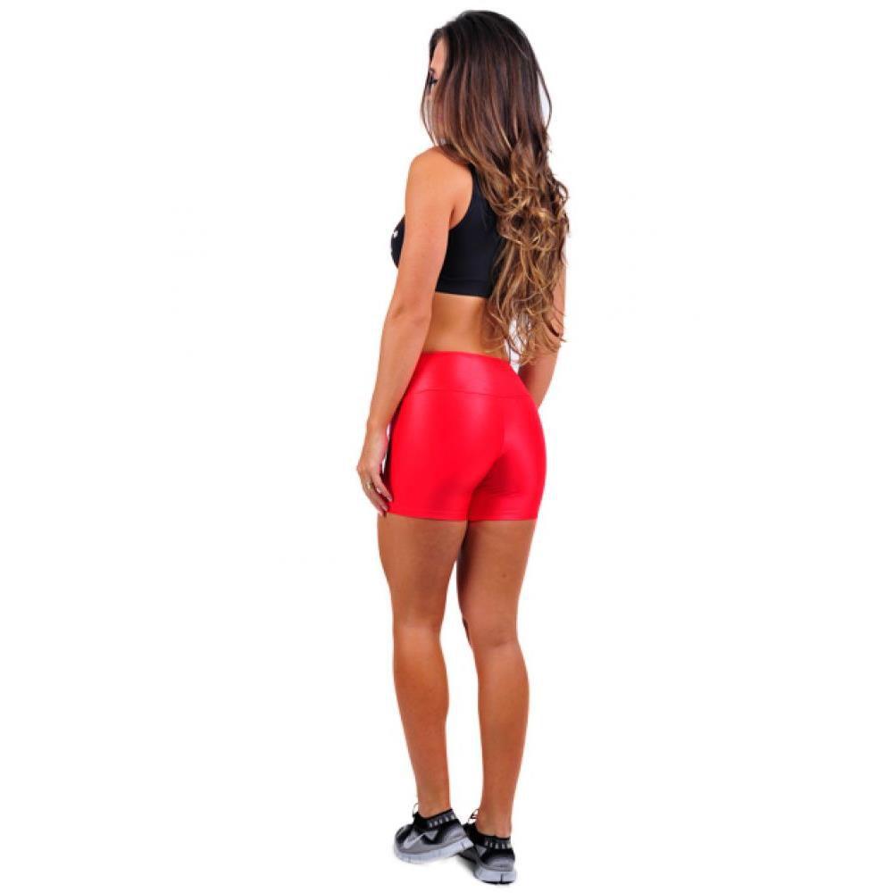 Shorts Cirrê Missfit Red Fitclothing