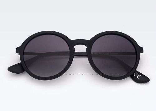 675cb19c59913 Óculos De Sol Redondo Unisex Polarizado Proteção Uv Velve - LTIMPORTS