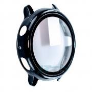 Capa Case com Película de Vidro 3D compatível com Galaxy Watch Active 2 40mm SM-R835 e SM-R830