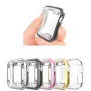 Capa Case TPU Premium compatível com Apple Watch Series 4 e 5 44mm