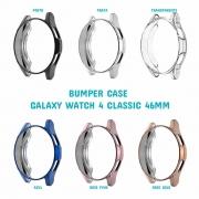 Capa Protetora TPU Bumper Case compatível com Samsung Galaxy Watch 4 Classic 46mm SM-R890 / SM-R895