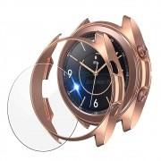 KIT Capa protetora Bumper Case + Película de Vidro para o relógio Galaxy Watch 3 41mm