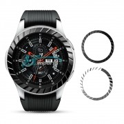 Moldura Aro Bisel Ranhuras para Samsung Galaxy Watch 46mm e Samsung Gear S3 Frontier