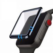 Película de Vidro 3D compatível com Apple Watch 44mm Series 4, 5, 6 e SE