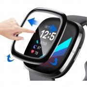Película NanoGEL 3D compatível com Fitbit Versa 3