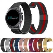 Pulseira 22mm Magnética Milanese compatível com Samsung Galaxy Watch 3 45mm - Galaxy Watch 46mm - Gear S3 Frontier - Amazfit GTR 47mm