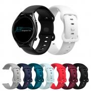 Pulseira 22mm Sport Borboleta compatível com Galaxy Watch 3 45mm - Galaxy Watch 46mm - Gear S3 Frontier - Amazfit GTR 47mm - GTR 2 - Amazfit Stratos 3