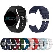 Pulseira Clássica compatível com Samsung Galaxy Watch 4 40mm - Galaxy Watch 4 44mm - Galaxy Watch 4 Classic 42mm - Galaxy Watch 4 Classic 46mm