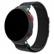Pulseira Magnética Milanese Loop compatível com Garmin Forerunner 235 220 230 620 630 735XT