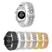 Pulseira Metal 7 Elos compatível com Apple Watch 40mm e 38mm