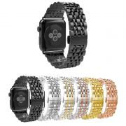 Pulseira Metal 7 Elos para Apple Watch 44mm e 42mm