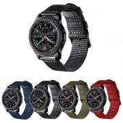 Pulseira Nylon Especial compatível com Samsung Galaxy Watch 3 45mm - Galaxy Watch 46mm - Gear S3 Frontier - Amazfit GTR 47mm