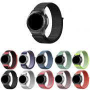 Pulseira Nylon Loop compatível com Samsung Galaxy Watch 3 45mm - Galaxy Watch 46mm - Gear S3 Frontier - Amazfit GTR 47mm