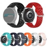 Pulseira Sport Moderna 20mm compatível com Galaxy Watch Active 1 e 2 - Galaxy Watch 3 41mm - Galaxy Watch 42mm - Amazfit GTR 42mm - Amazfit Bip