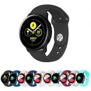 Pulseira Sport Lisa 20mm compatível com Samsung Galaxy Watch Active 44mm 40mm - Galaxy Watch 3 41mm - Galaxy Watch 42mm - Amazfit GTR 42mm
