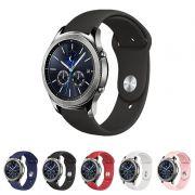 Pulseira Sport Lisa compatível com Samsung Galaxy Watch 3 45mm - Galaxy Watch 46mm - Gear S3 Classic Frontier - Amazfit GTR 47mm Huawei Watch GT2 46mm