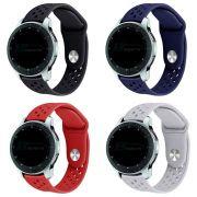 Pulseira Sport Total compatível com Samsung Galaxy Watch 3 45mm - Galaxy Watch 46mm - Gear S3 Frontier - Amazfit GTR 47mm