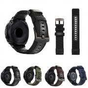 Pulseira Tour em Nylon compatível com Samsung Galaxy Watch Active 1 e 2 - Galaxy Watch 3 41mm - Galaxy Watch 42mm - Amazfit GTR 42mm