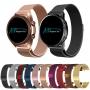 Pulseira 20mm Magnética Milanese compatível com Galaxy Watch Active 1 e 2 - Galaxy Watch 3 41mm - Galaxy Watch 42mm - Amazfit GTR 42mm