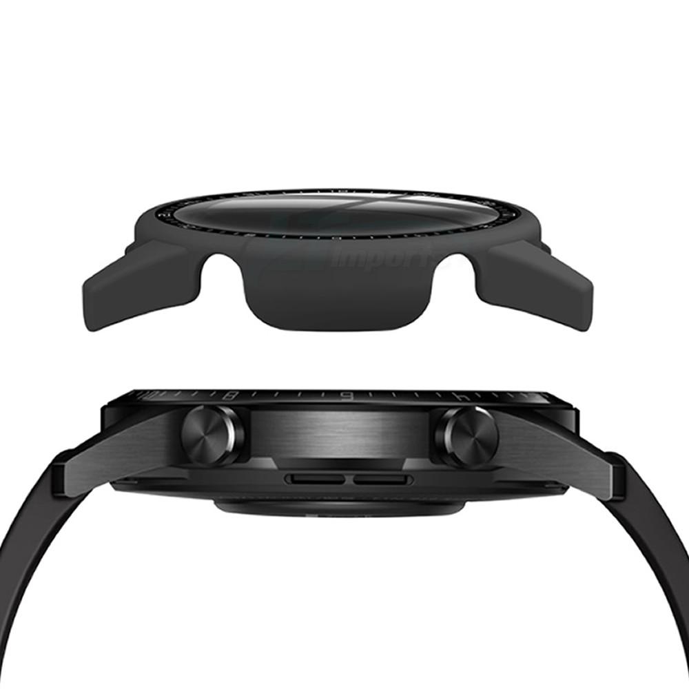 Capa Case com Película de Vidro 3D compatível com Huawei Watch GT 2 46MM