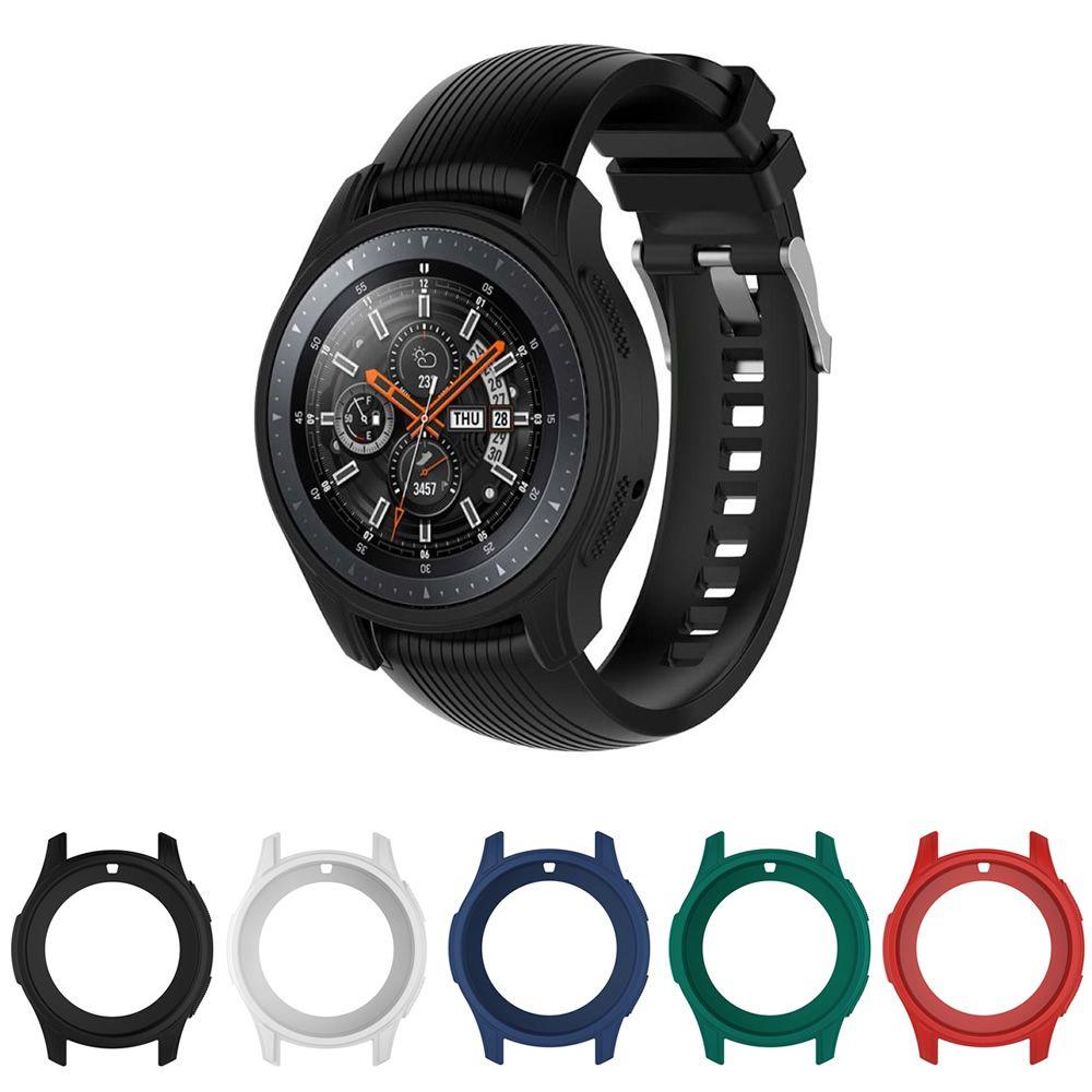 Capa Bumper Case de Silicone Macio para Samsung Gear S3 Frontier - Galaxy Watch 46mm BT