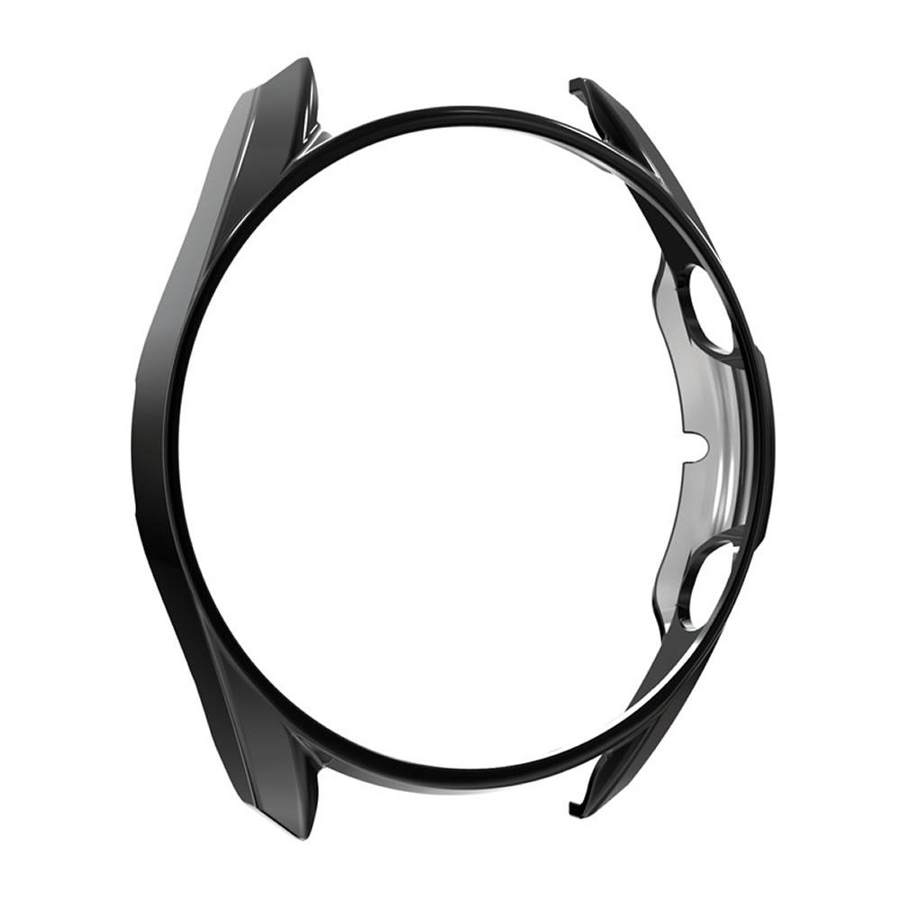 Capa Protetora Bumper Case em Policarbonato Rígido compatível com Samsung Galaxy Watch 3 41mm (Preto)