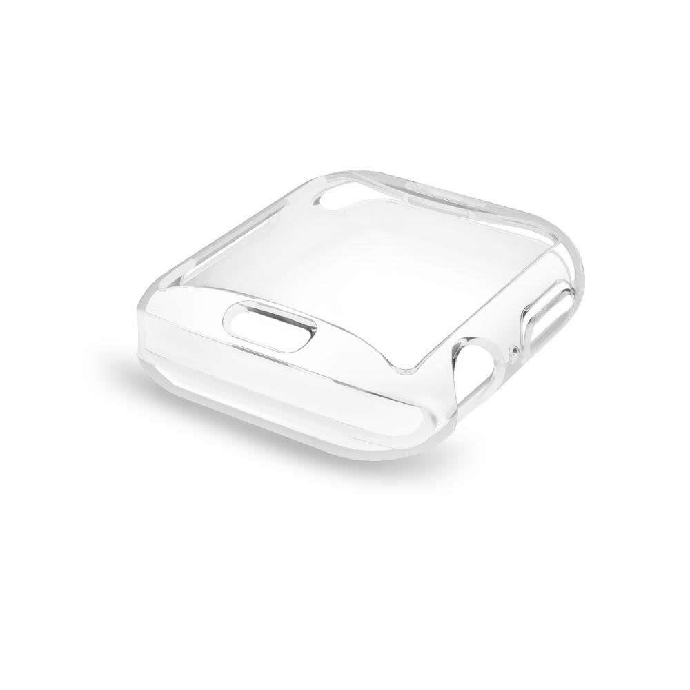 Bumper Case - Capa Protetora de TPU para Apple Watch 4 e 5 44mm - Transparente