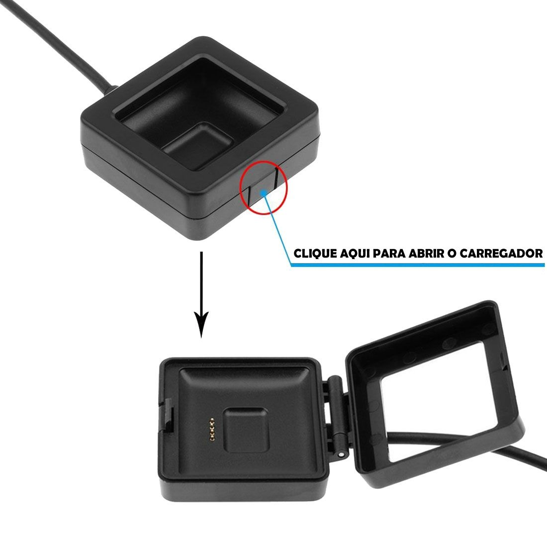 Dock Carregador para Fitbit Blaze