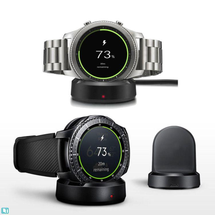 5a01ca5c057 Dock Carregador Sem Fio Samsung Gear S2 Samsung Gear S3 E Samsung ...