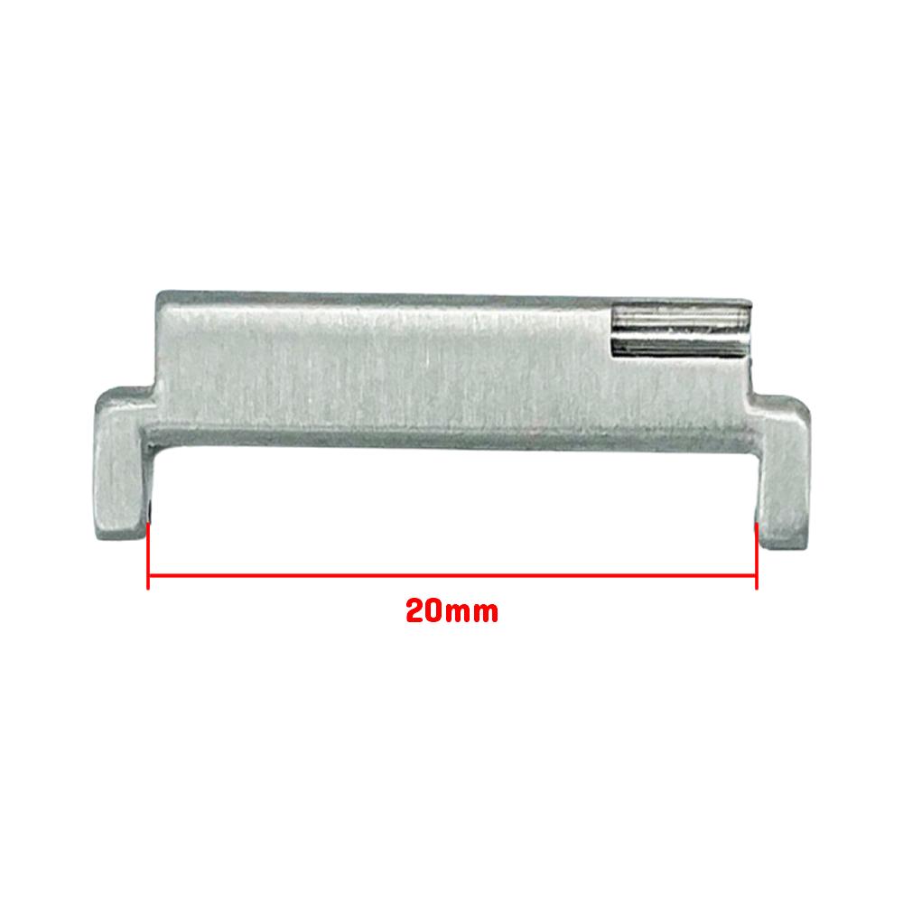 Extensor Acabamento Premium para Pulseira 20mm