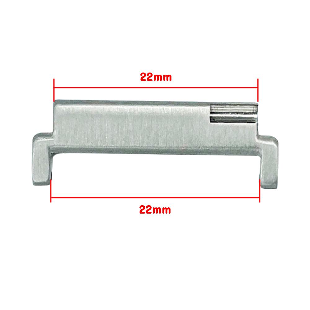 Extensor Acabamento Premium para Pulseira 22mm