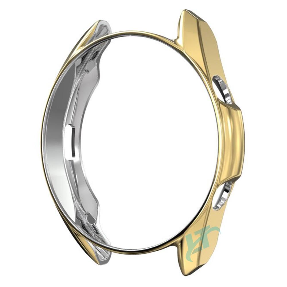 KIT Pulseira + Capa Protetora Bumper compatível com Galaxy Watch 3 45mm (AMARELO)