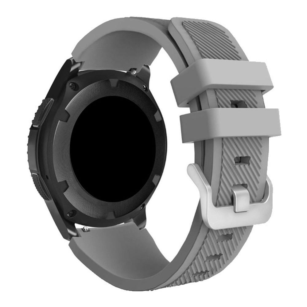 KIT Pulseira + Capa Protetora Bumper compatível com Galaxy Watch 3 45mm (CINZA)