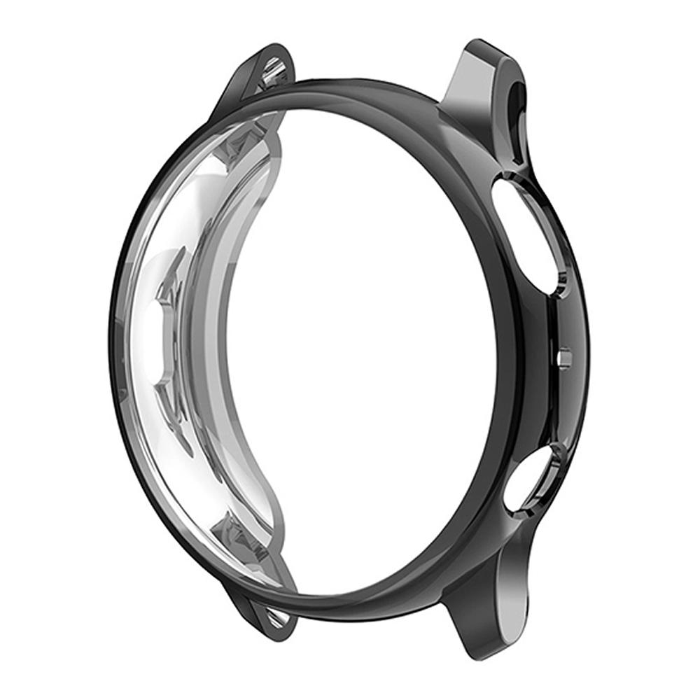 KIT Pulseira + Capa Protetora compatível com Galaxy Watch Active 2 44mm (PRETO)