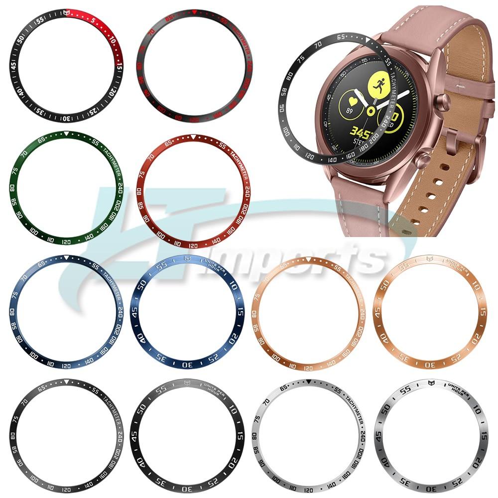 Moldura Aro Bisel compatível com Samsung Galaxy Watch 3 41mm