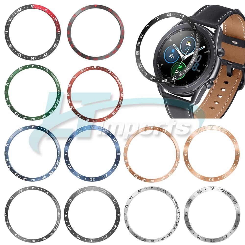 Moldura Aro Bisel compatível com Samsung Galaxy Watch 3 45mm