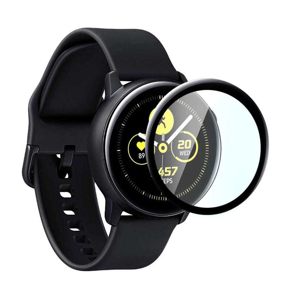 Película de Vidro 3D para Samsung Galaxy Watch Active 2 40mm SM-R835 e SM-R830