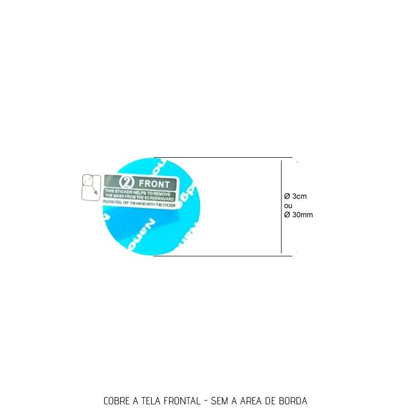 Película PET compatível com Samsung Galaxy Watch Active 40mm Sm-R500