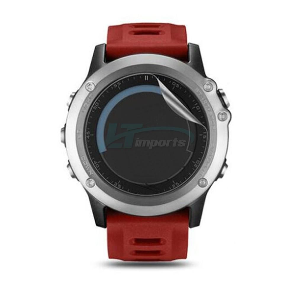 Película de Proteção em TPU - Filme Adesivo Slim Ultra Fino para Relógio Fenix 3 - Fenix 5X