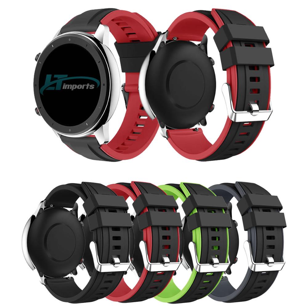 Pulseira 22mm Gtx compatível com Galaxy Watch 3 45mm - Galaxy Watch 46mm - Gear S3 Frontier - Amazfit GTR 47mm