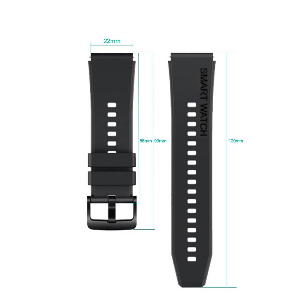 Pulseira 22mm Smartwatch compatível com Samsung Galaxy Watch 3 45mm - Galaxy Watch 46mm - Gear S3 Frontier - Amazfit GTR 47mm