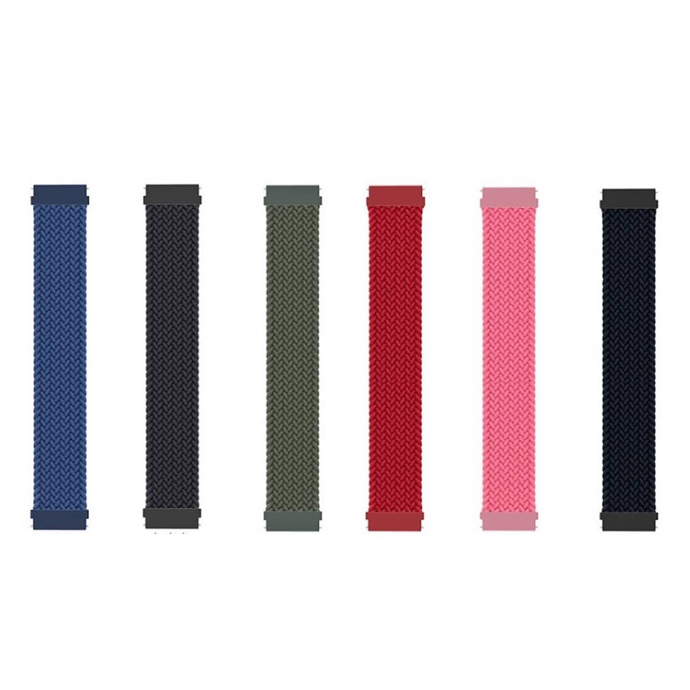 Pulseira 22mm Trançada Infinito compatível com Samsung Galaxy Watch 3 45mm - Galaxy Watch 46mm - Gear S3 Frontier - Gear S3 Classic