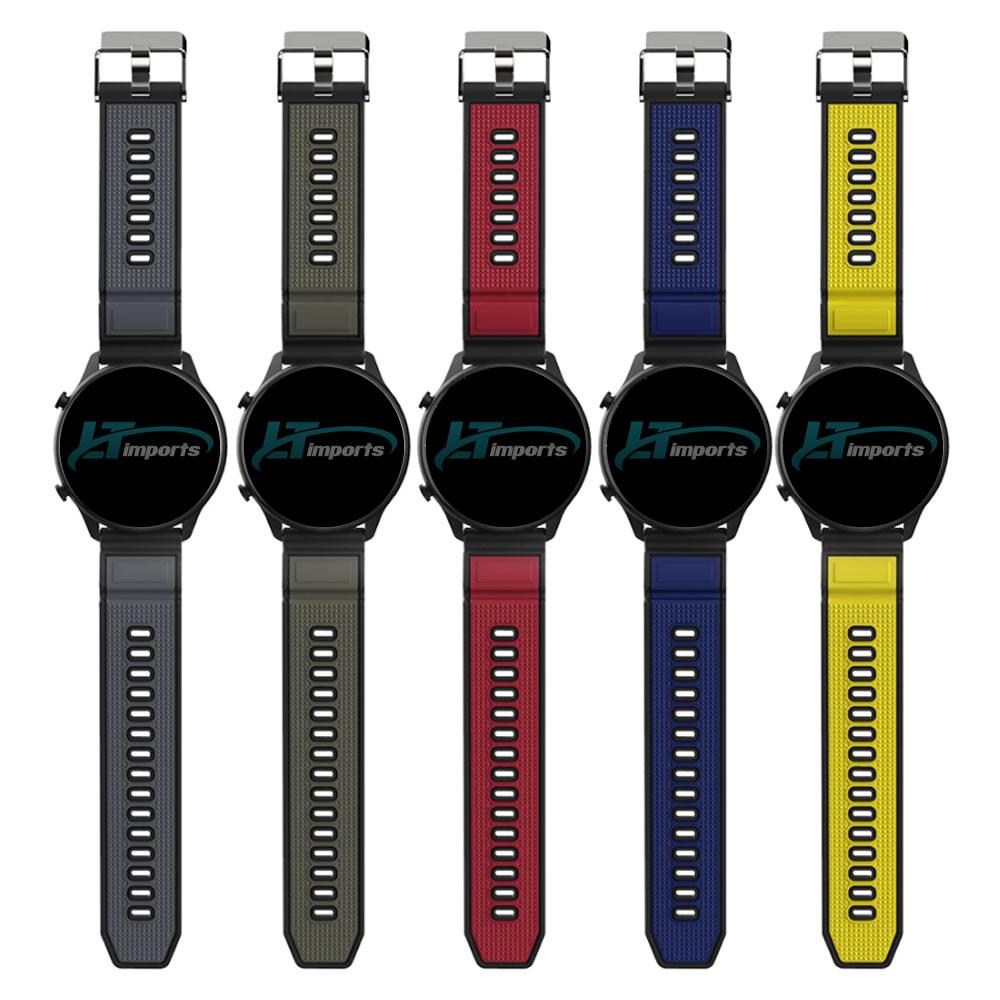 Pulseira 22mm X-Sports compatível com Galaxy Watch 3 45mm - Galaxy Watch 46mm - Gear S3 Frontier - Amazfit GTR 47mm