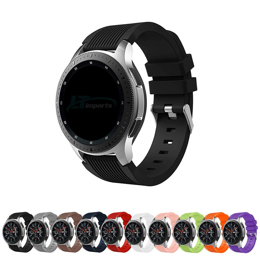 Pulseira Clássica compatível com Samsung Galaxy Watch 3 45mm - Galaxy Watch 46mm - Gear S3 Frontier - Amazfit GTR 47mm - Huawei Watch GT 2 46mm